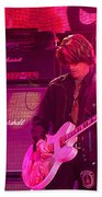 Aerosmith-joe Perry-00008 Beach Towel