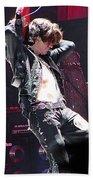 Aerosmith-joe Perry-00053 Beach Towel