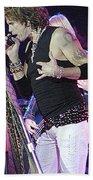 Aerosmith-steven Tyler-00059 Beach Towel
