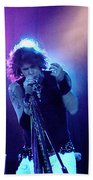 Aerosmith-steven Tyler-00114 Beach Towel