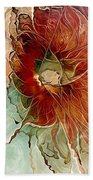 Aflame Beach Towel