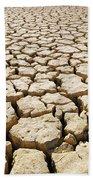 Africa Cracked Mud Beach Towel