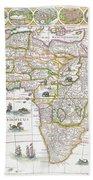 Africa Nova Map Beach Sheet