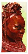 African Beauty Beach Towel