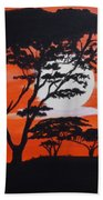 African Heat Beach Towel