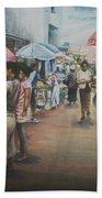 African Market Beach Sheet