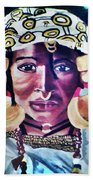 African Queen Beach Towel
