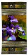 African Violet Beach Sheet