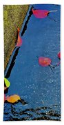 After Rain Beach Towel