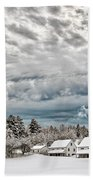 After The Snow Storm Beach Towel