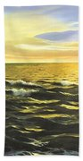 After The Storm Beach Towel