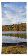 Afternoon At The Lake Beach Towel