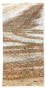 Ag Brushstrokes Sq Beach Towel