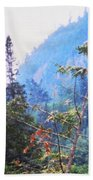 Agawa Canyon Beach Towel