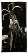 Agnes Ayres The Heart Raider 1923 Beach Towel