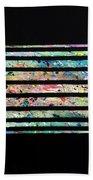 Agoraphobia  Beach Towel by Robbie Masso