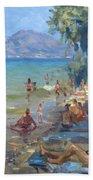 Agrilesa Beach Athens  Beach Towel