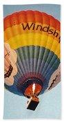 Air Balloon Beach Towel