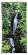 Aira Force Waterfall, Aira Beck, Ullswater, Lake District Beach Towel