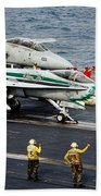 Aircraft Planes F18 Cat Beach Towel