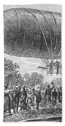 Airship Ascent, 1883 Beach Towel