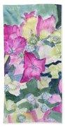 Ajisai Color-magenta Beach Sheet