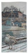 Akershus Seagull Beach Towel