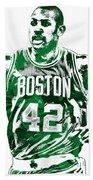 Al Horford Boston Celtics Pixel Art Beach Towel