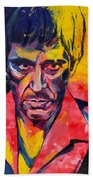 Al Pacino Beach Towel
