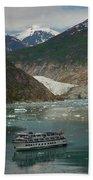 Alaska Endicott Glacier Beach Towel