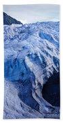 Alaska Exit Glacier Beach Towel