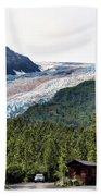 Alaska Glacier B Beach Towel