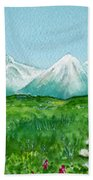 Alaska Splendor Beach Towel