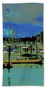 Alaskan Harbor 7 Beach Towel