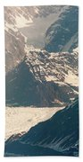 Alasks Glacier Range Denali Nation Park  Beach Towel