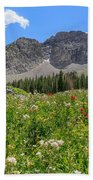 Albion Summer Flowers Beach Towel