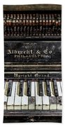 Albrecht Company Piano Beach Towel