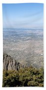 Albuquerque And The Rio Grande Beach Towel