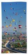 Albuquerque Balloon Fiesta Beach Towel
