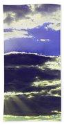 Albuquerque Sky Beach Towel