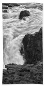 Aldeyjarfoss Waterfall Iceland 3381 Beach Towel