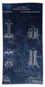 Alexander Graham Bell's Telephone Beach Towel