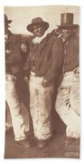 Alexander Rutherford, William Ramsay And John Linton Beach Towel