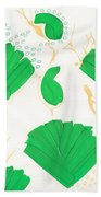 Algae Blooms Beach Towel