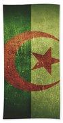 Algeria Distressed Flag Dehner Beach Sheet