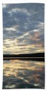 Algonquin Lake Sunset Beach Towel
