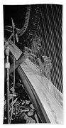 Alice Coltrane On Harp Beach Towel