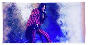 Alice Cooper On Stage Beach Towel