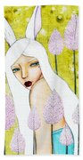 Alice In Oz Beach Towel