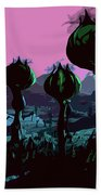 Alien Eden Beach Towel